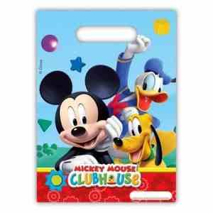 6 sacs à bonbons Mickey