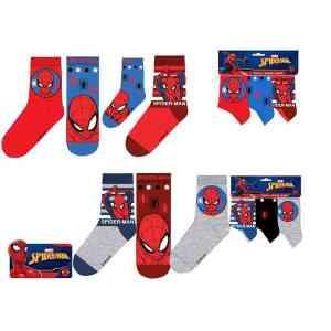 Lot de 3 paires de chaussettes Spiderman