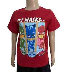 T-shirt manches courtes rouge PJMasks