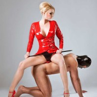Rubber-Goddess-Miss-Jade-in-Red