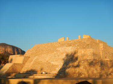 zona Arqueológica de Tehuacán sin seguridad