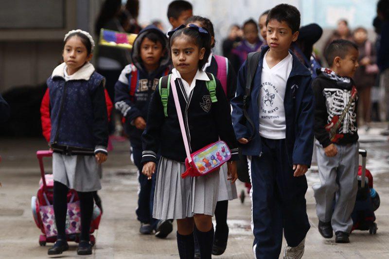 ESTE LUNES REANUDAN ACTIVIDADES EL 97 POR CIENTO DE ESCUELAS EN PUEBLA