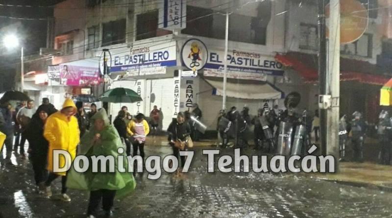 CRÓNICA DE UN DESALOJO ANUNCIADO –NOCHE DE IGNOMINIA EN TEHUACÁN.