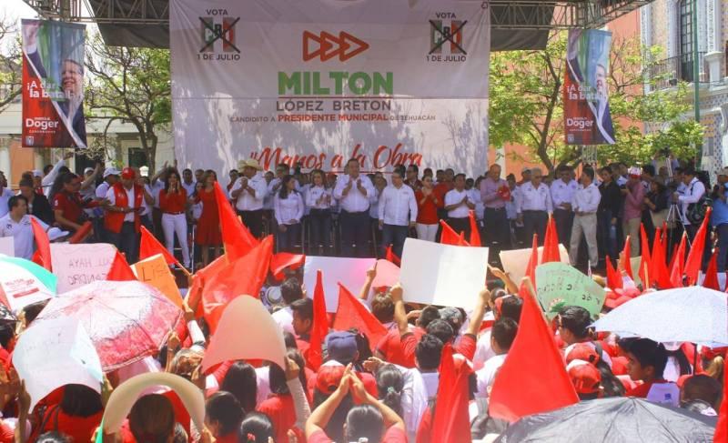 CIERRE DE CAMPAÑA DE MILTON LOPEZ