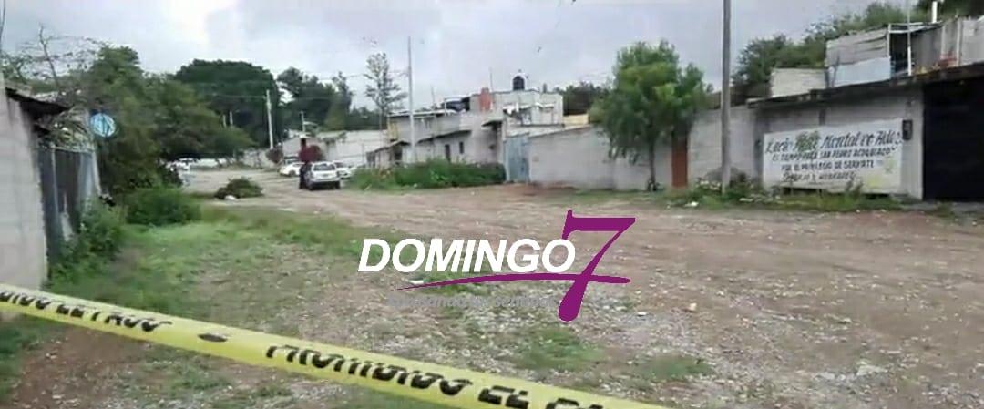 MUJER MATA Y ENTIERRA A SU EX PAREJA EN LA COLONIA TOCHAPA DE TEHUACÁN