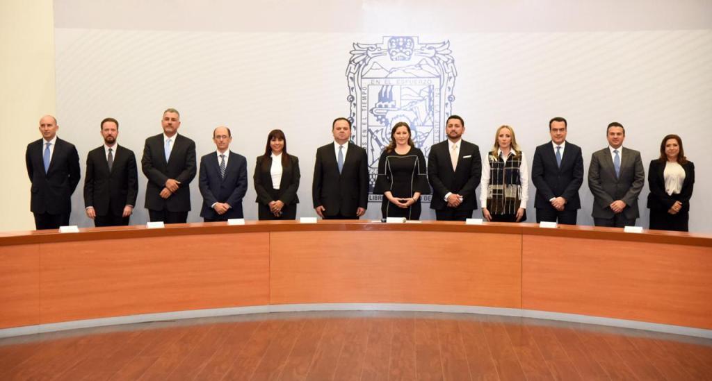 MARTHA ERIKA ALONSO TOMA PROTESTA A SECRETARIOS DE ESTADO