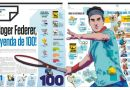 ¡ROGER FEDERER, LEYENDA DE 100!