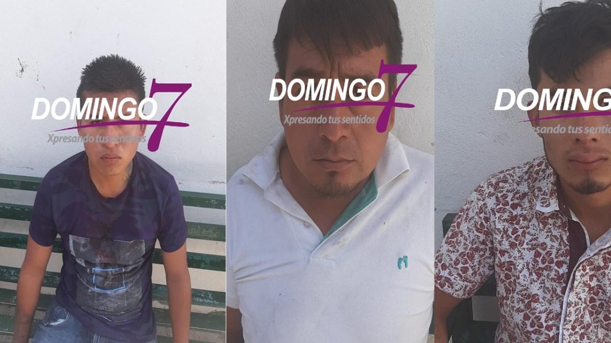 CAEN LADRONES DE TAXIS TRAS VIOLENTO ROBO EN TEHUACAN