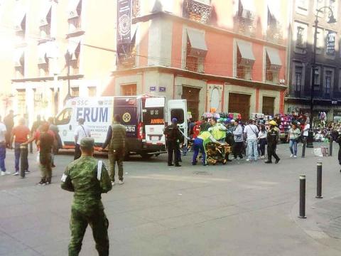 SUJETO EBRIO DESATA BALACERA EN CENTRO DE LA CDMX; SALDO 5 MUERTOS