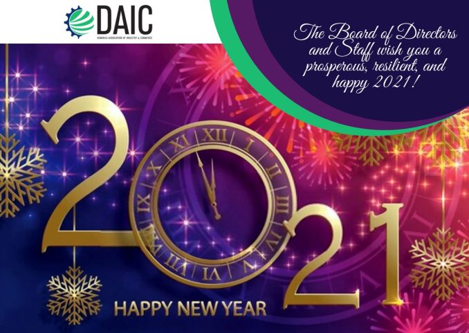 DAIC Reviews 2020 and shares best wishes for a prosperous and resilient 2021 – Dominica News Online