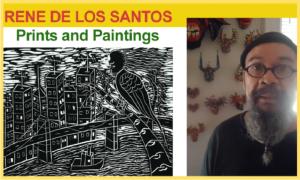 Rene de los Santos - Prints and Paintings