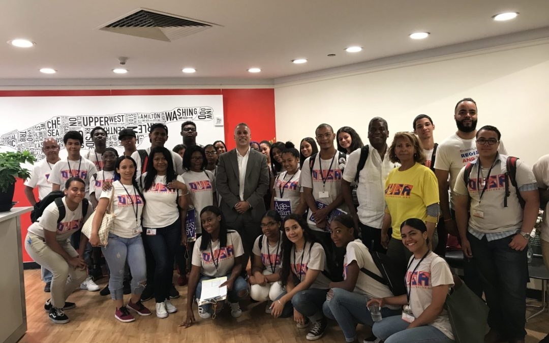 Young Voices Visit Manhattan Borough President's Office