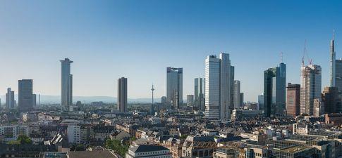 Frankfurt Skyline Panoramic