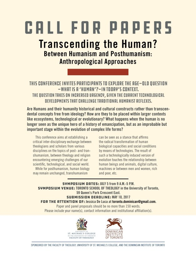 call for papers humanism conference