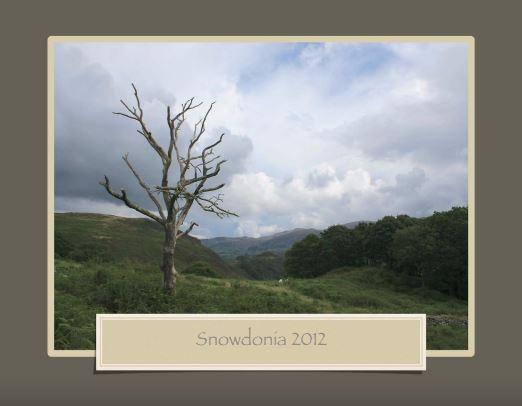 Snowdonia augustus 2012 (Llan Ffestiniog)