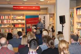 Hugendubel in Göttingen - die Premierenlesung war ein voller Erfolg!