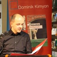 Dominik Kimyon liest in Duderstadt