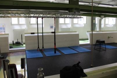 Ein Teil des Functional-Training Bereiches im HAW Studio