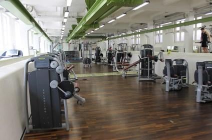 Trainingsmaschinen im HAW Studio