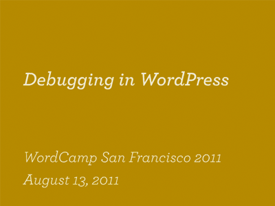 debugging-wordpress