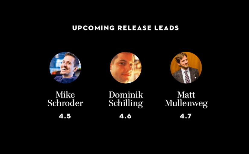 WordPress 4.6 Release Lead