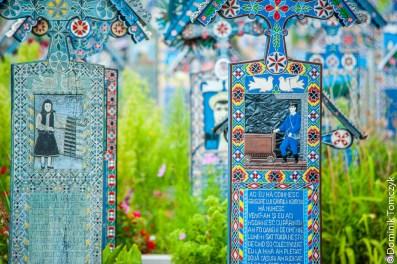 Rumunia, Sapanta, Wesoły Cmentarz, -8935