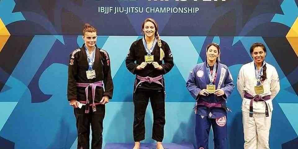 Michelle Welti World Champion