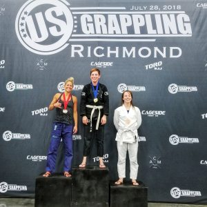 Dominion BJJ's Emily Shaw at US Grappling