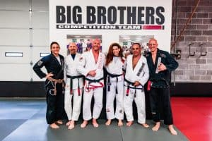 Big Brothers represent at Claudia Do Val Seminar