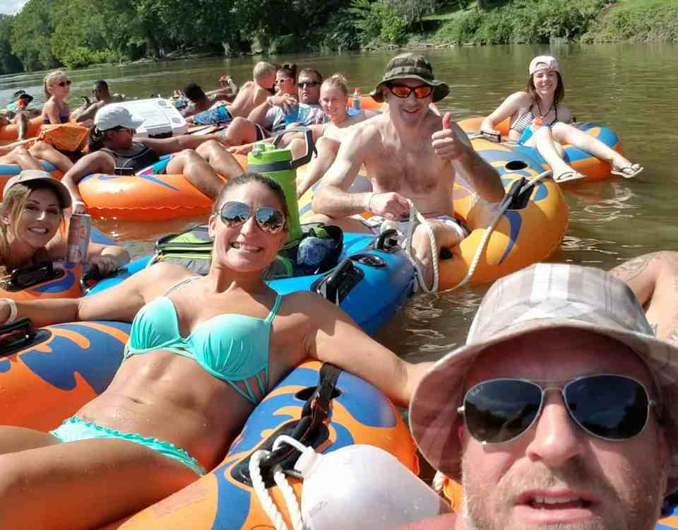 Family Friendly Tubing Trip with Dominion BJJ