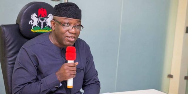 Fayemi promises to complete Ekiti cargo airport, other projects