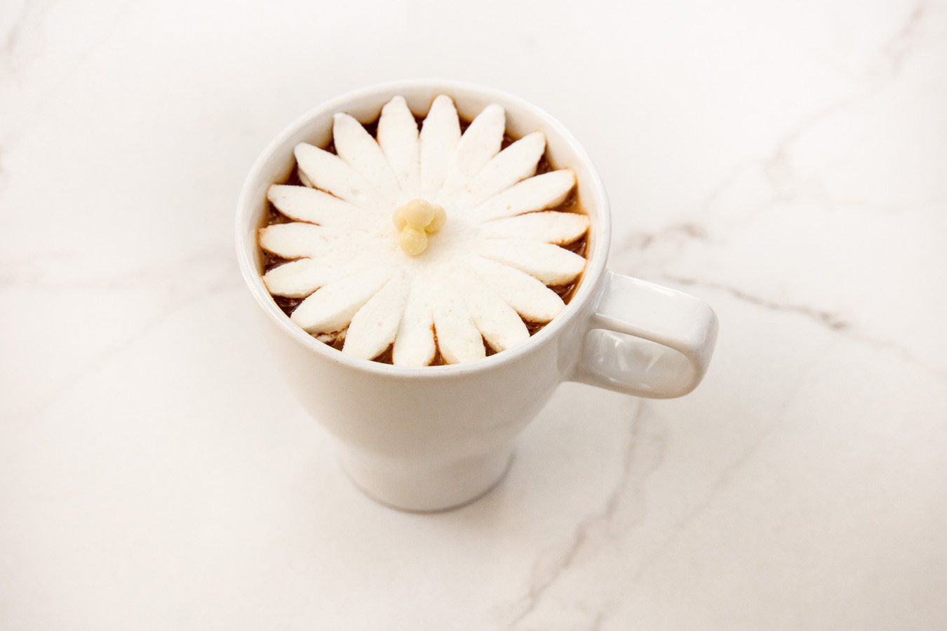 Blossoming Hot Chocolate