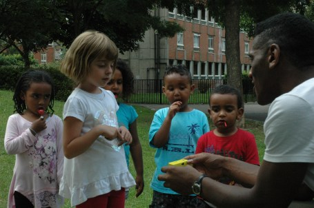 Photo workshop with children