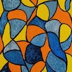RENCONTRE AQUATIQUE Acrylique 73/50