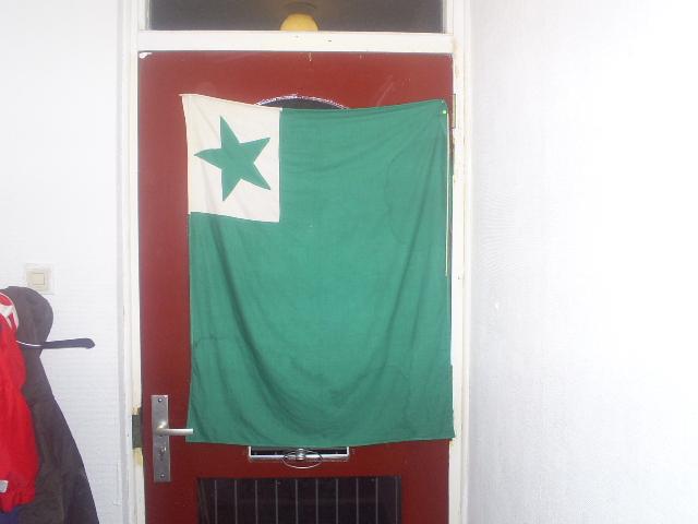 Verda flago