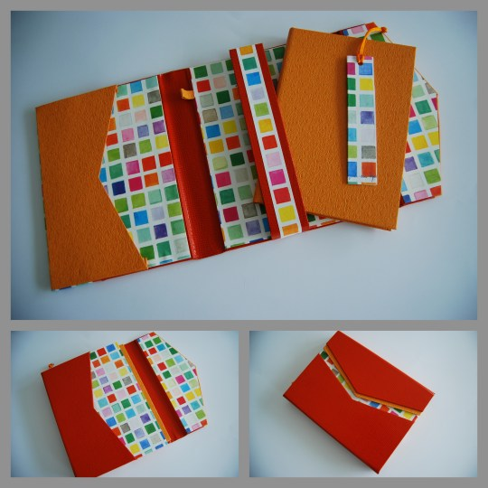 cahier orange