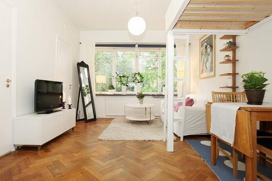 Arredare Un Salotto Con Zona Notte Casa E Trend