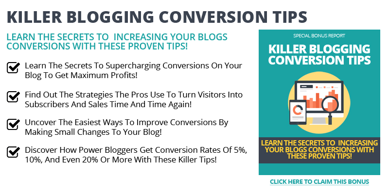 Killer Blogging Conversion tIps