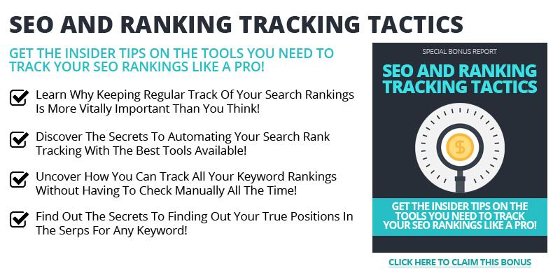 SEO Ranking Tracking Tactics