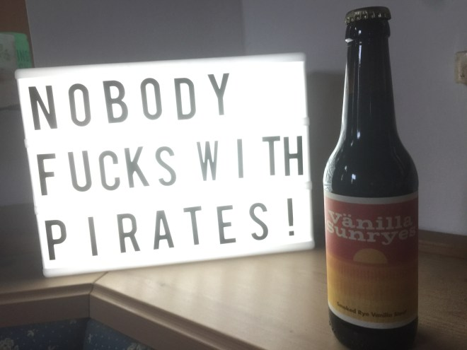 Pirate Brew Berlin & H2ÖL Brewing Co. - Vänilla Sunryes