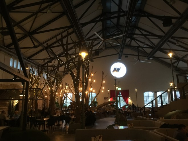 Inside Stone Brewing World Bistro & Gardens Berlin