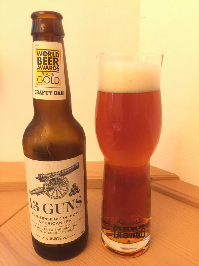 Crafty Dan - 13 Guns IPA