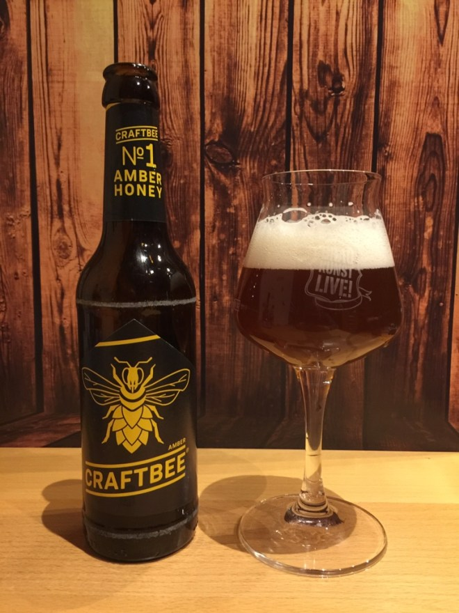 craftBee - Amber Honey im Glas