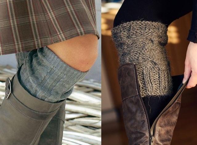 Le port de leggings peut être et nécessaire avec des bottes