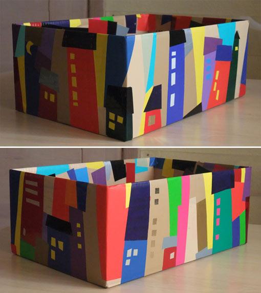 декорирование коробки