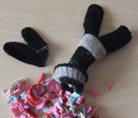 игрушки из перчаток