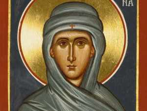 Icon of St. Macrina