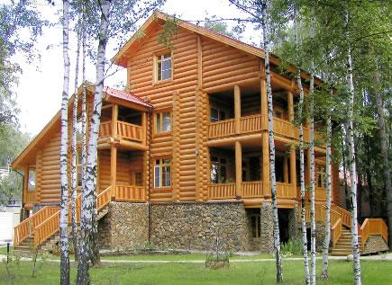 Строим дом из дерева: разновидности стройматериалов, типы деревянных домов
