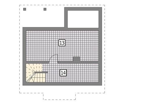 Проект уютного дома из клееного бруса «Радуга»