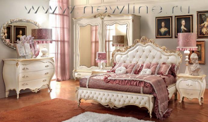 Итальянская спальня. Спальни из Италии